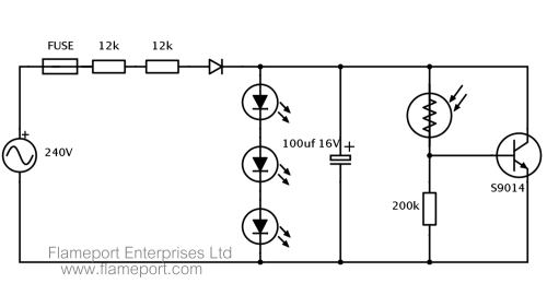 small resolution of 99p automatic led nightlight teardown led night light circuit circuit schematic for a 99p led nightlight