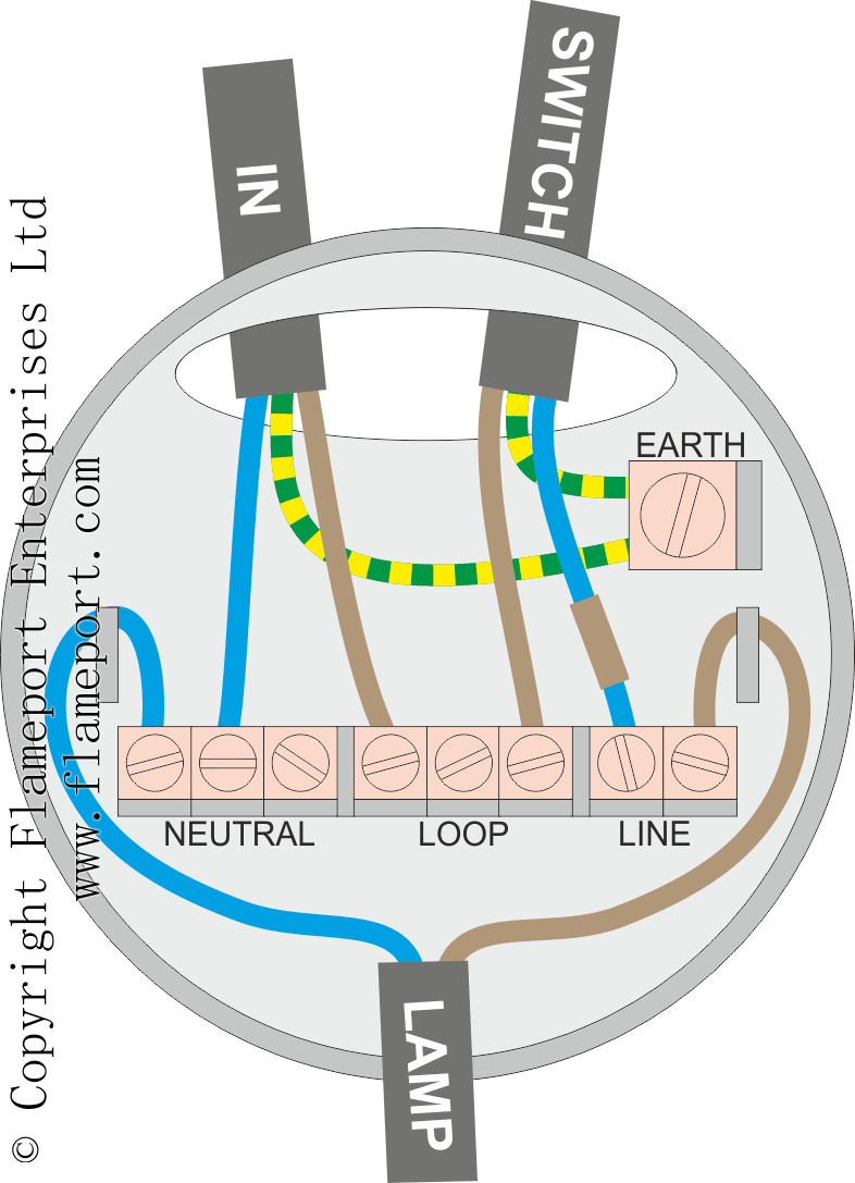 Lighting Ceiling Rose Wiring