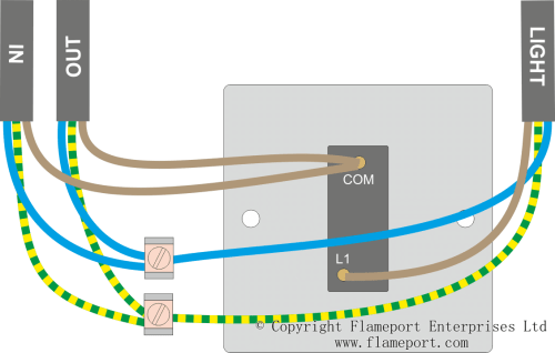 small resolution of loop at switch lighting circuits wiring outside lights in parallel loop at the switch