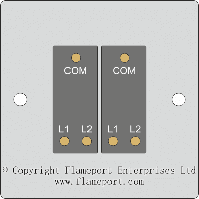 wiring diagram 2 switches 1 light for bt openreach master socket 5c lighting circuit switch arrangements