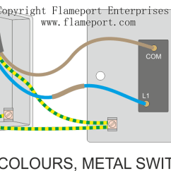 3 Gang Switch Wiring Diagram What Is A Flow 1 Way All Data One Switched Lighting Circuits 2 Light