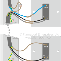 Wiring Diagram For A Two Way Switched Light 06 Chevy Cobalt Lighting Circuits 2 Alternative Switch Connections New Colours