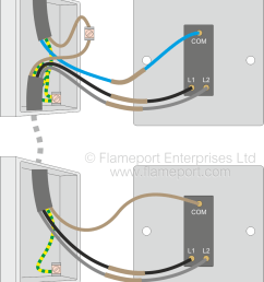 two way switched lighting circuits 2 alternative two way switch connections new colours [ 851 x 1000 Pixel ]