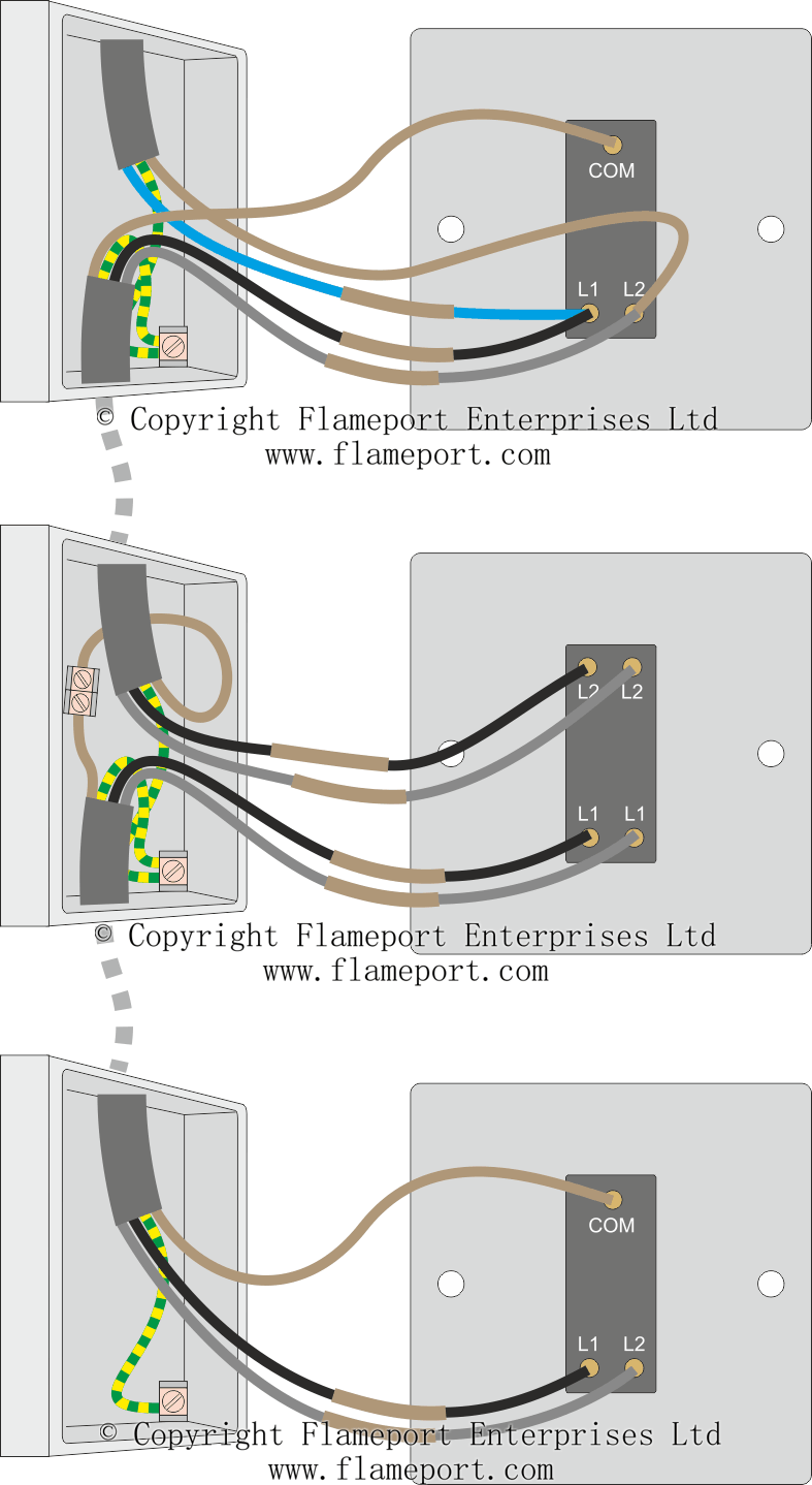 hight resolution of three way switch connections