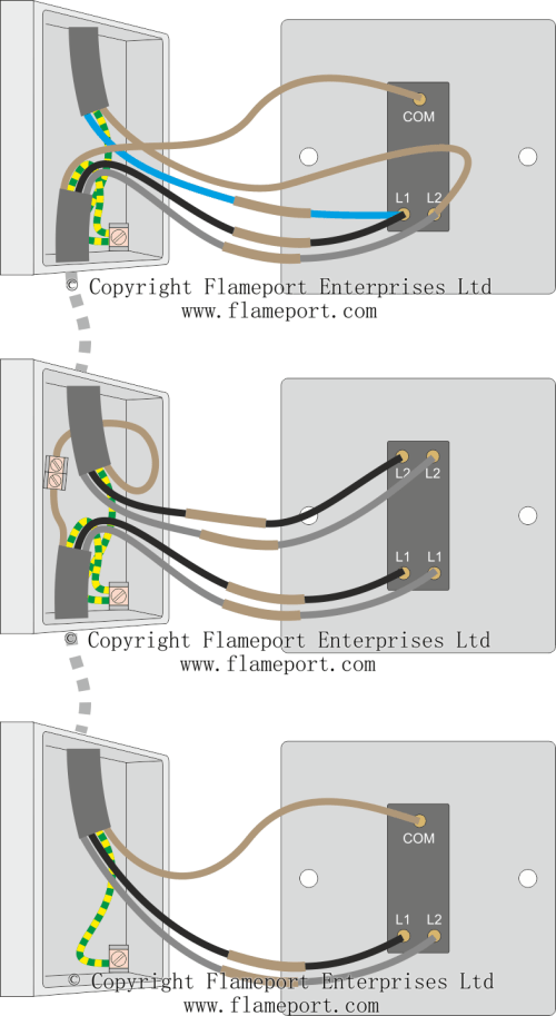 small resolution of three way switch connections