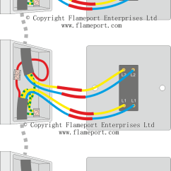 Three Way Switch Wiring Diagram Two Lights 93 Ford Ranger Starter 3 Switched Lighting Circuits