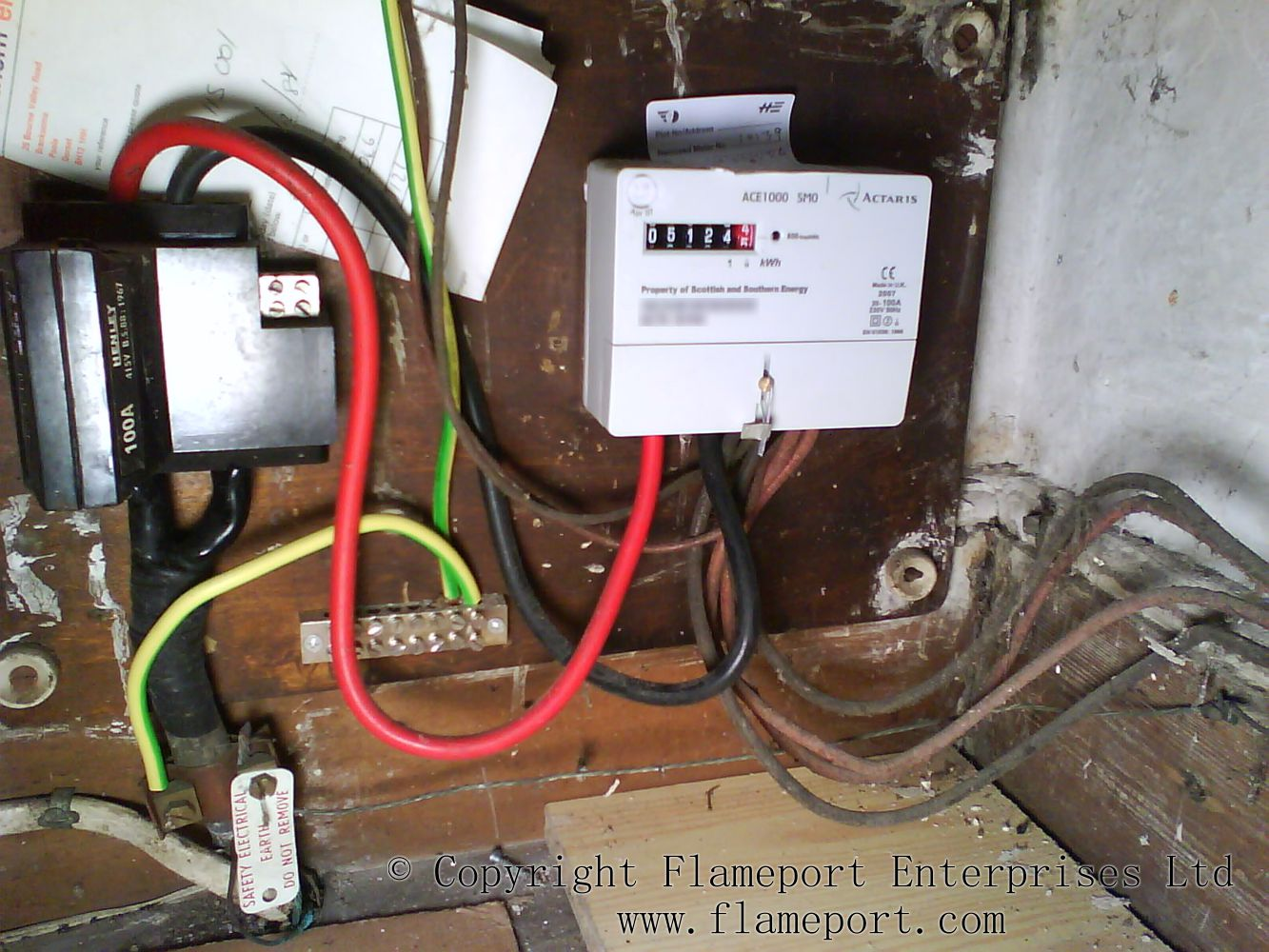 Ct Electric Meter Wiring Youtube