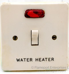 mk 5932 20a double pole water heater switch with neon indicator  [ 1040 x 1000 Pixel ]