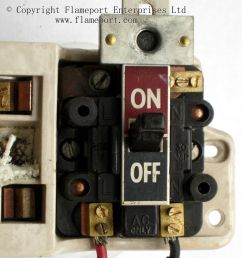 main switch from old gec fuse box [ 1200 x 1452 Pixel ]