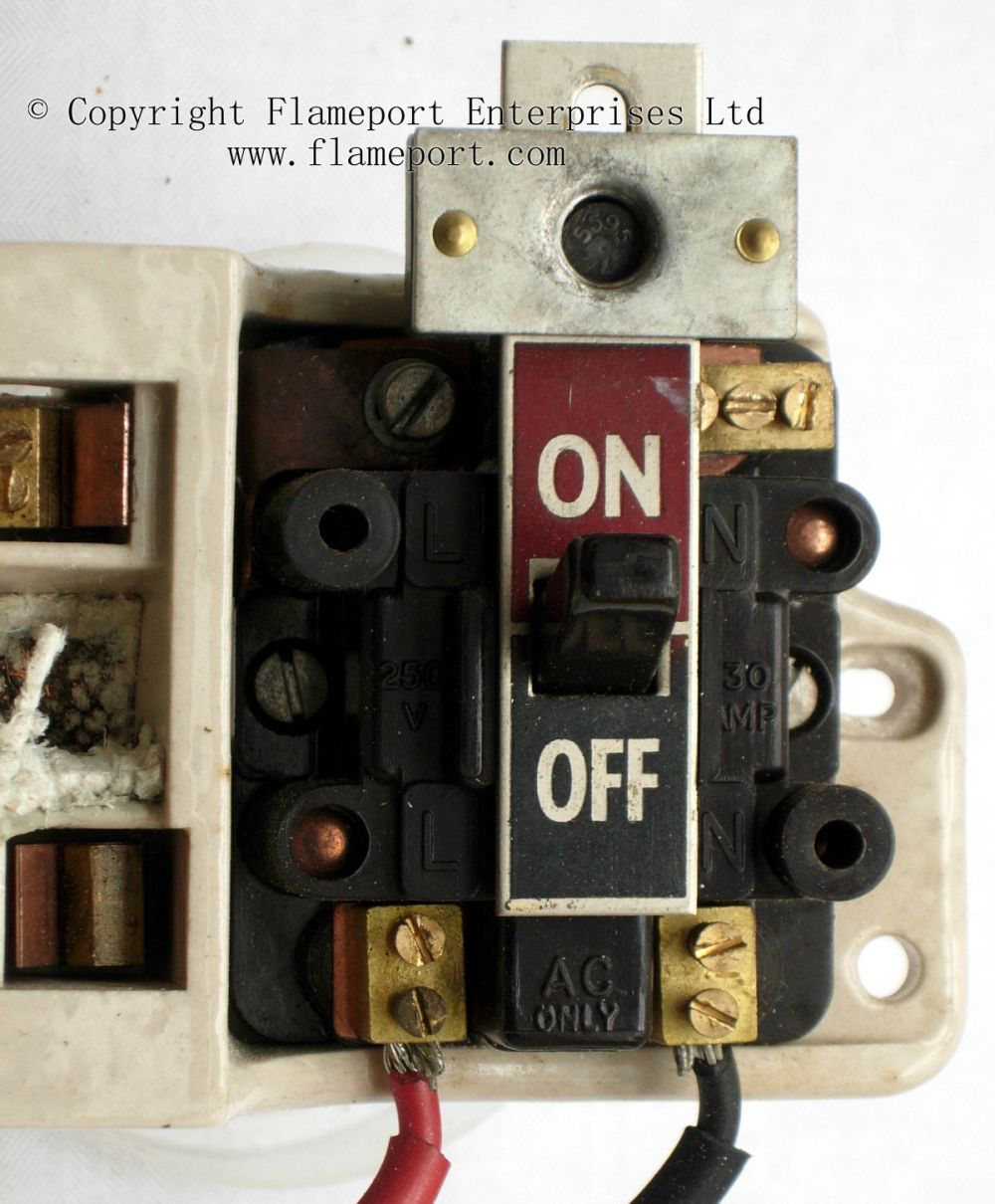 medium resolution of  main switch from old gec fuse box