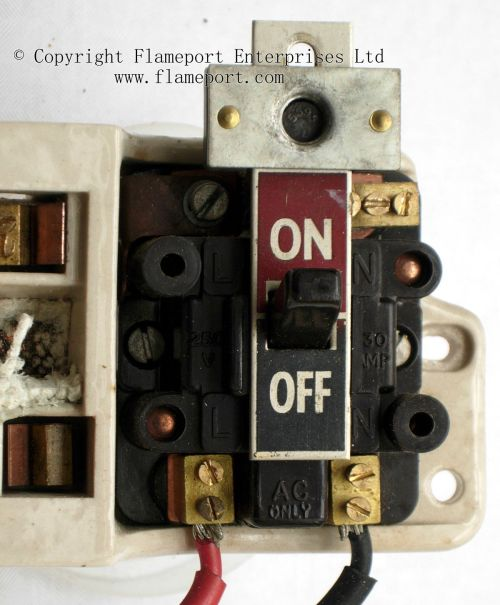 small resolution of  main switch from old gec fuse box