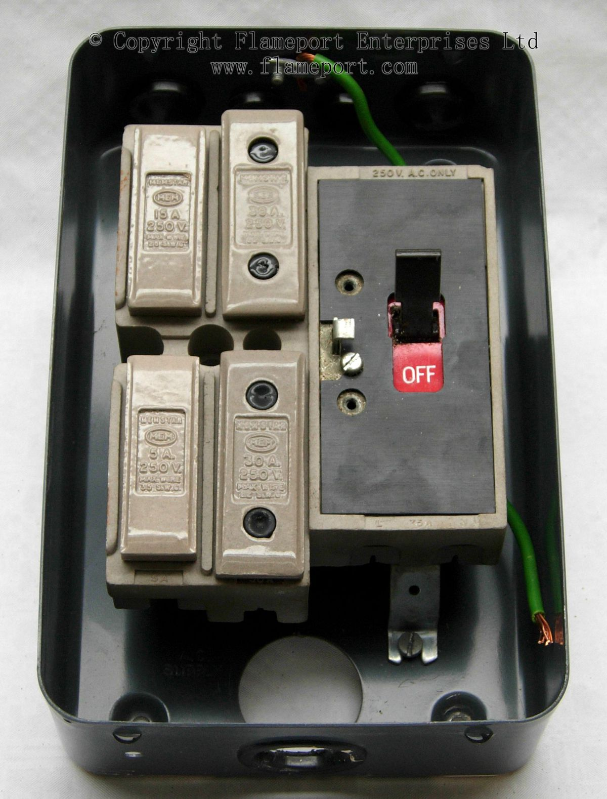hight resolution of old house fuse box 1970 wiring librarymem 4 way fusebox