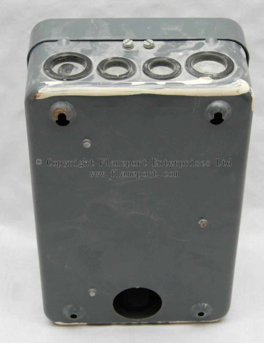 medium resolution of mem 4 way enclosed grey metal fuse box metal fuse box uk mem 4 way fusebox