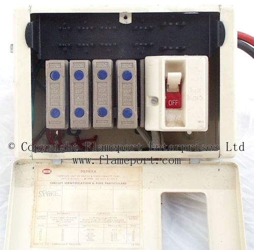 small resolution of wylex fuse box spares wiring library metal mem 4 way fusebox with cover open