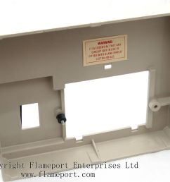 front moulded plastic memera 3 fusebox cover  [ 1245 x 1000 Pixel ]