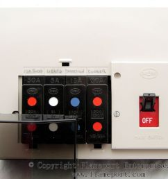 memera 3 four way plastic fusebox  [ 1203 x 1000 Pixel ]