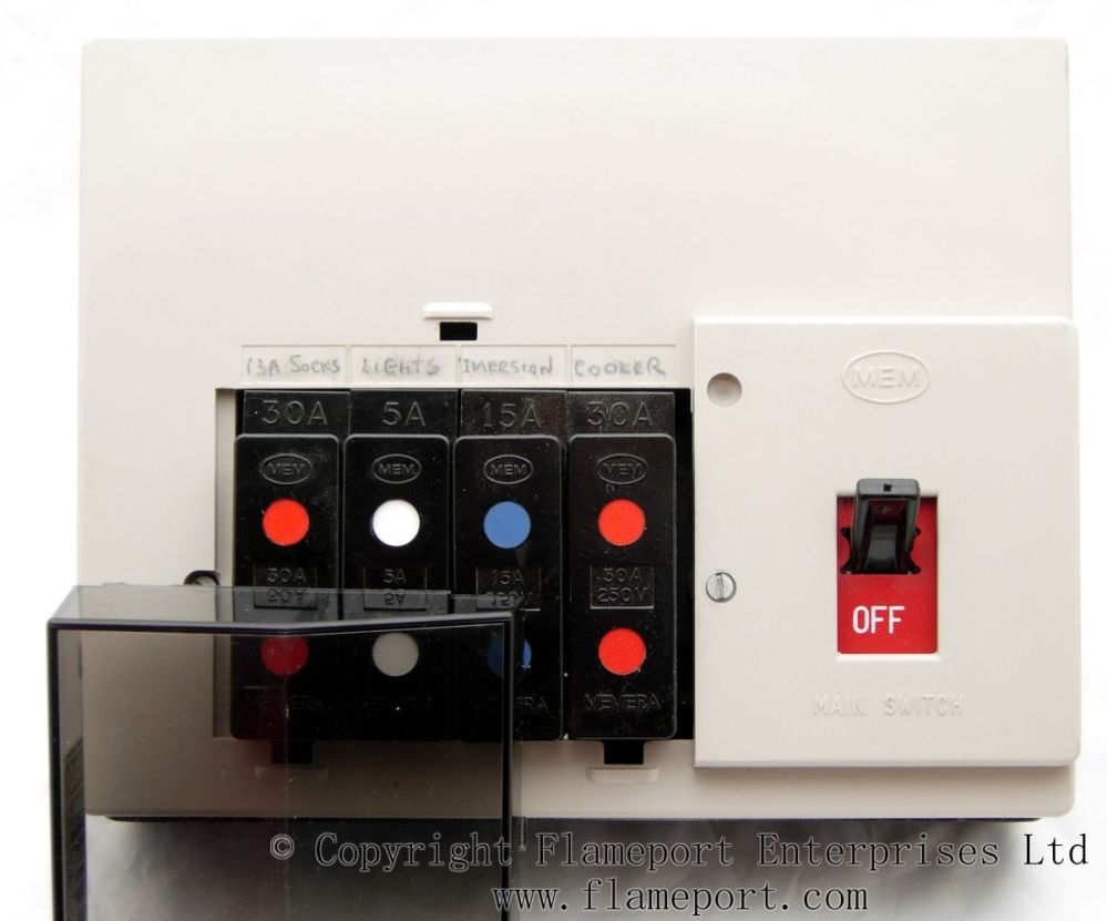 medium resolution of memera 3 four way plastic fusebox