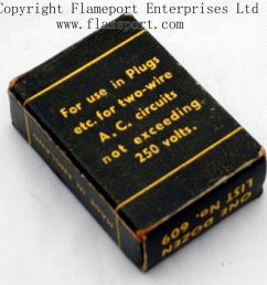 back view of a box containing 10a fuses [ 1000 x 911 Pixel ]