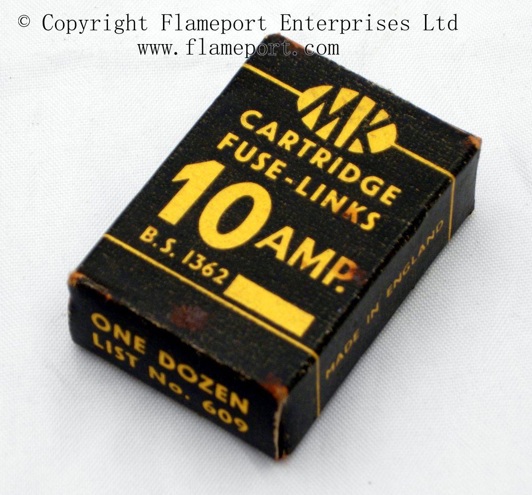 hight resolution of 609 box of one dozen 10 amp fuses