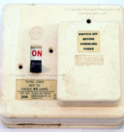 white plastic wylex fuse box with 2 fusesways  [ 997 x 1000 Pixel ]