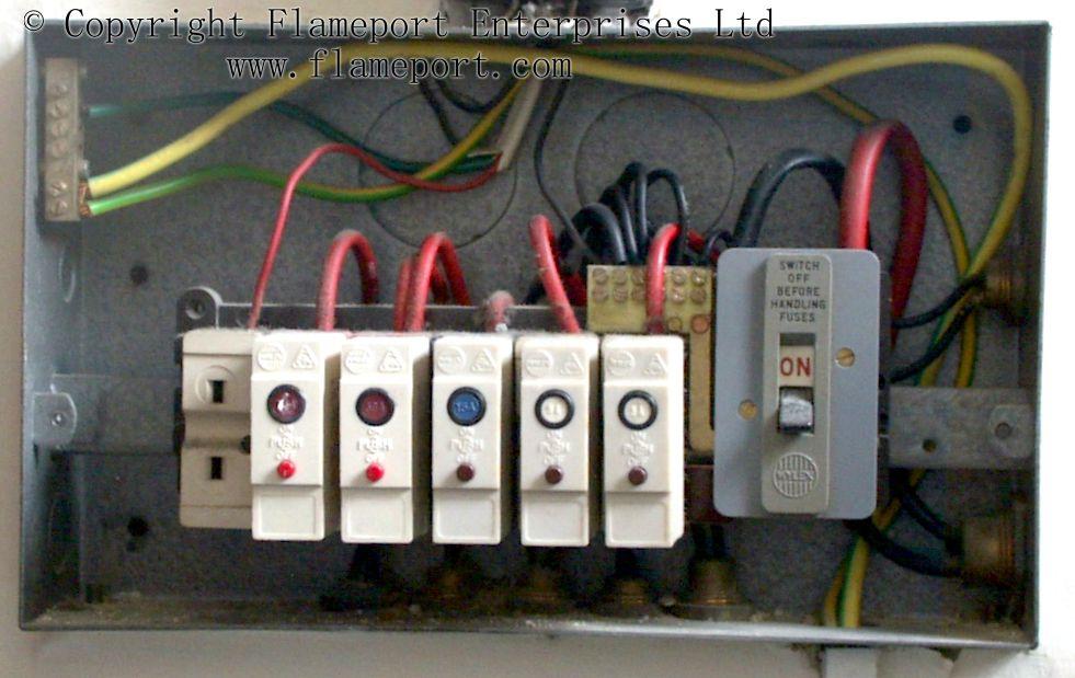 wylex fuse box wiring