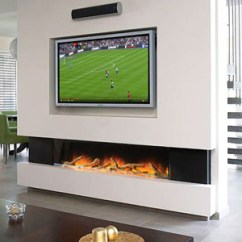 Living Room With Log Burner Formal Ideas 2018 Wall Fires - Create A Striking, Modern Feature In Your ...