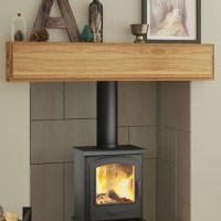 Be Modern Mayley Solid Oak Fireplace Beam | Flames.co.uk