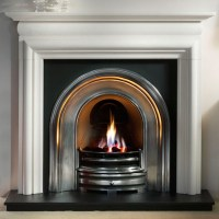 Gallery Asquith Agean Limestone Fireplace | Flames.co.uk