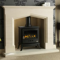 Gallery Coniston Fireplace with optional Tiger Gas Stove ...