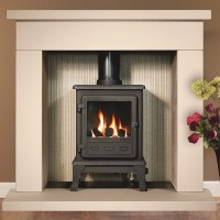 Gallery Durrington 42 Fireplace with optional Firefox 5 ...