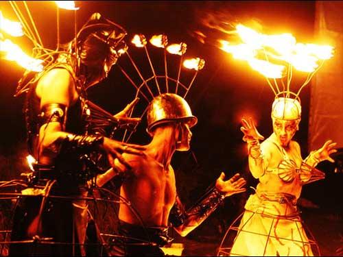 Flames of Chaos op Dance Valley 2007