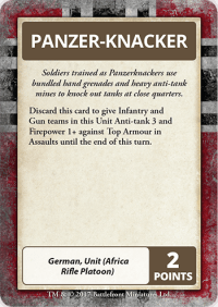 Command Cards