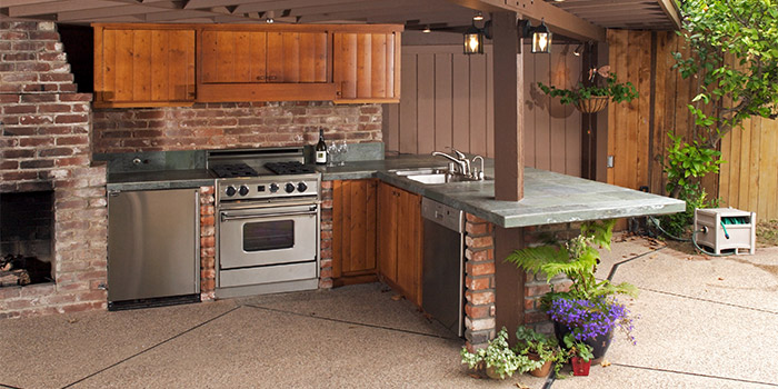 patio kitchen cost of remodeling central florida outdoor kitchens