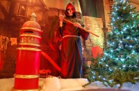 a christmas carol decorations