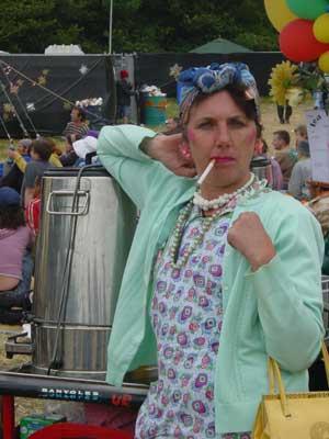 Tea Ladies  Flaming Fun Event Entertainment Agent
