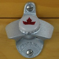 Molson Canadian Bottle Cap Maple Leaf Starr X Wall Mount ...