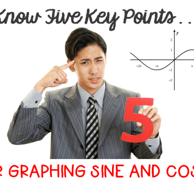 5 Key Points to Graphing Sine and Cosine