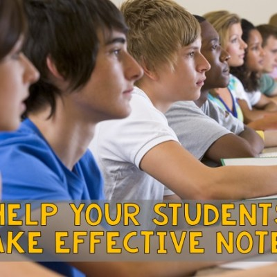 What Note-Taking Format Works Best for Your Students?