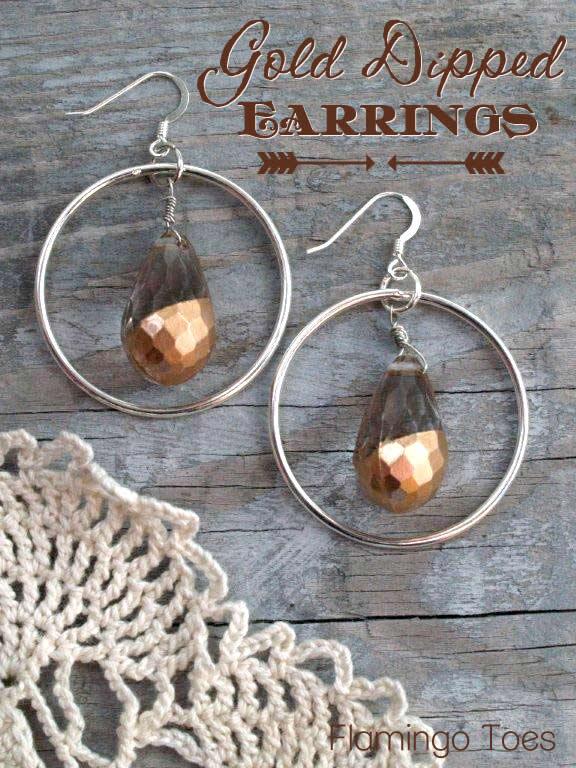Gold Dipped Earrings