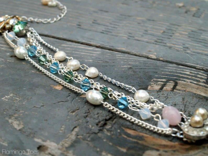 Anthro MultiStrand Bracelet