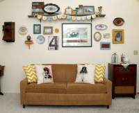 Vintage Style Gallery Wall