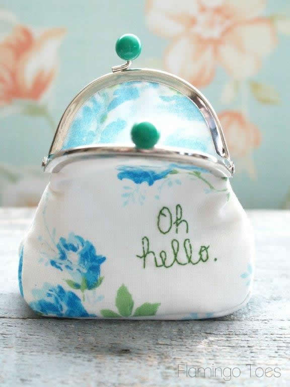 Coin Purse with gusset