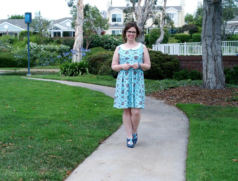 Simple Knit Summer Sundress