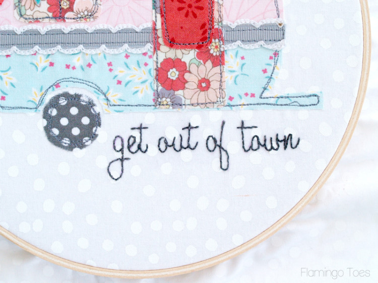 get out of town embroidery