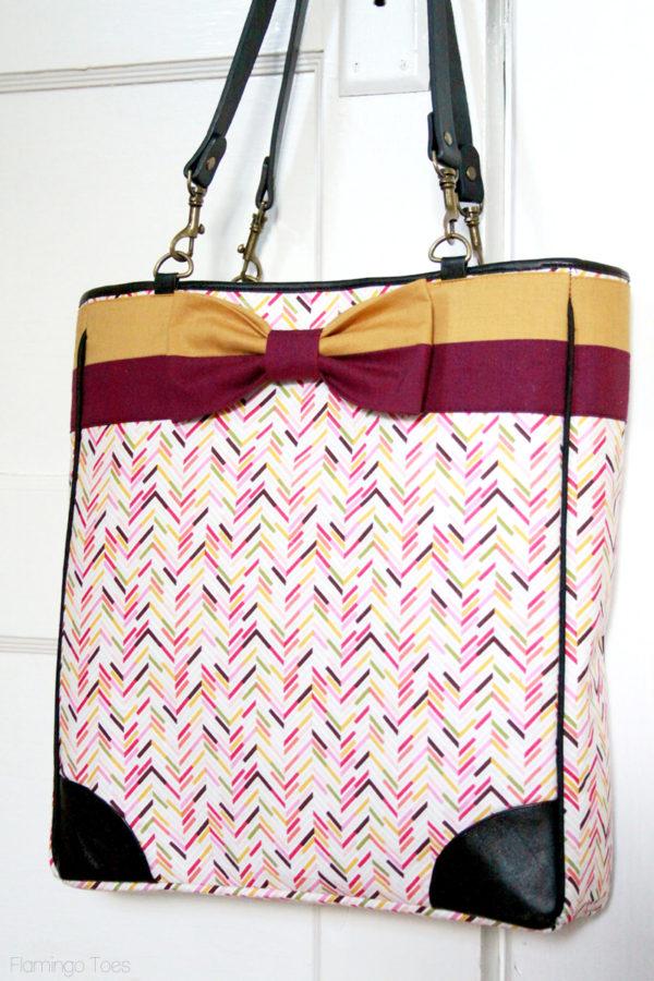 DIY Kate Spade Inspired Bow Bag