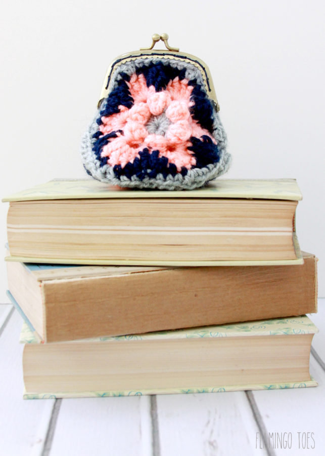 Crochet-Hexagon-Coin-Purse