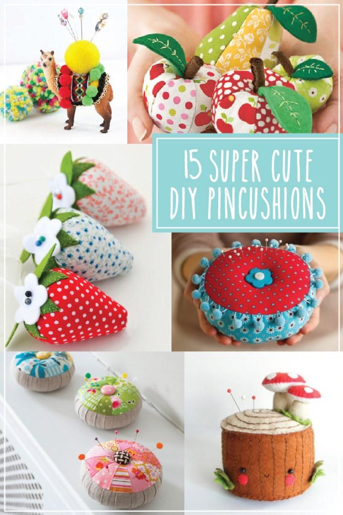 15 Cute Things To Crochet This Winter: 15 + Super Cute DIY Pincushions -Flamingo Toes