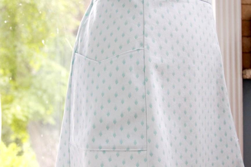 Vintage Pocket Skirt
