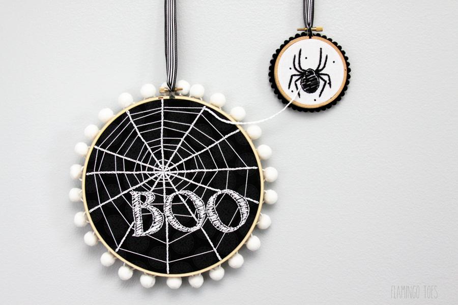 Connected Hoop Art