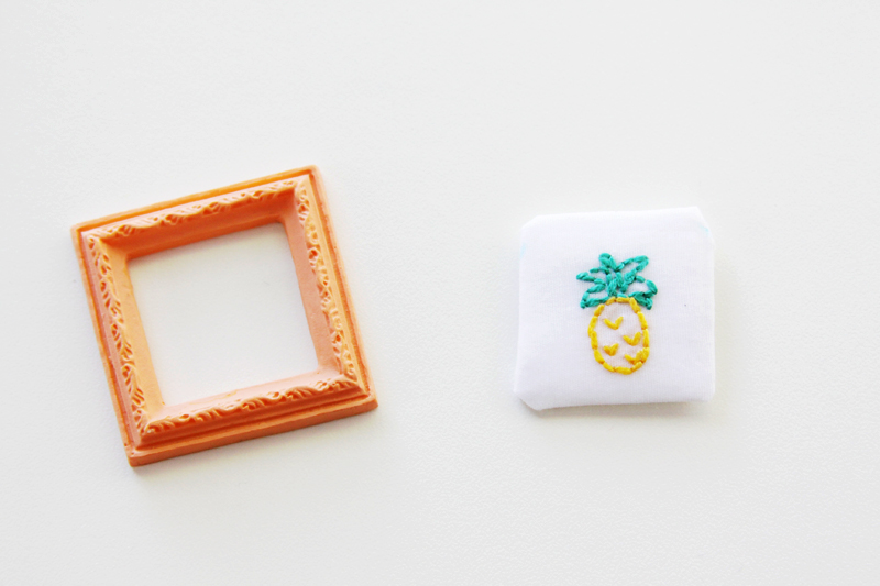 Mini Embroidery and Frame